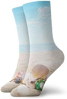 ASS, Pack de calcetines de vestir unisex Calcetines de playa divertidos de piña de playa