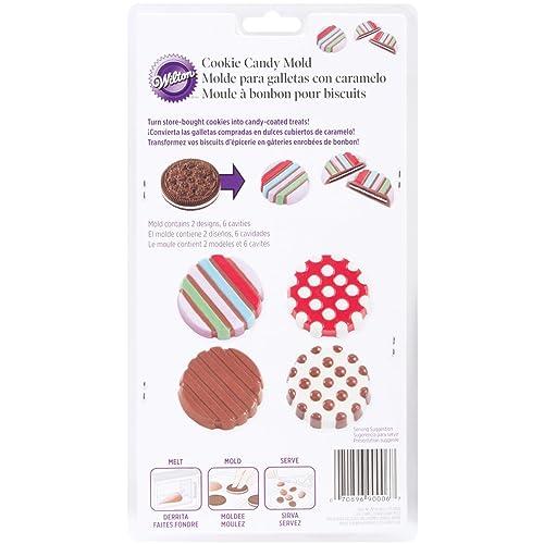 Wilton Dot/Stripe Cookie Candy Mold (2115-0006)