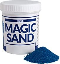 Steve Spangler Science Magic Sand, 227g, Blue – Colored Play Sand That Never Gets Wet, Exciting STEM Activity, Learn and T...