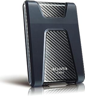 ADATA HD650 Pro Externe Harde Drive 1TB Zwart- subtiel en krasbestendig oppervlak met moderne uitstraling HDD