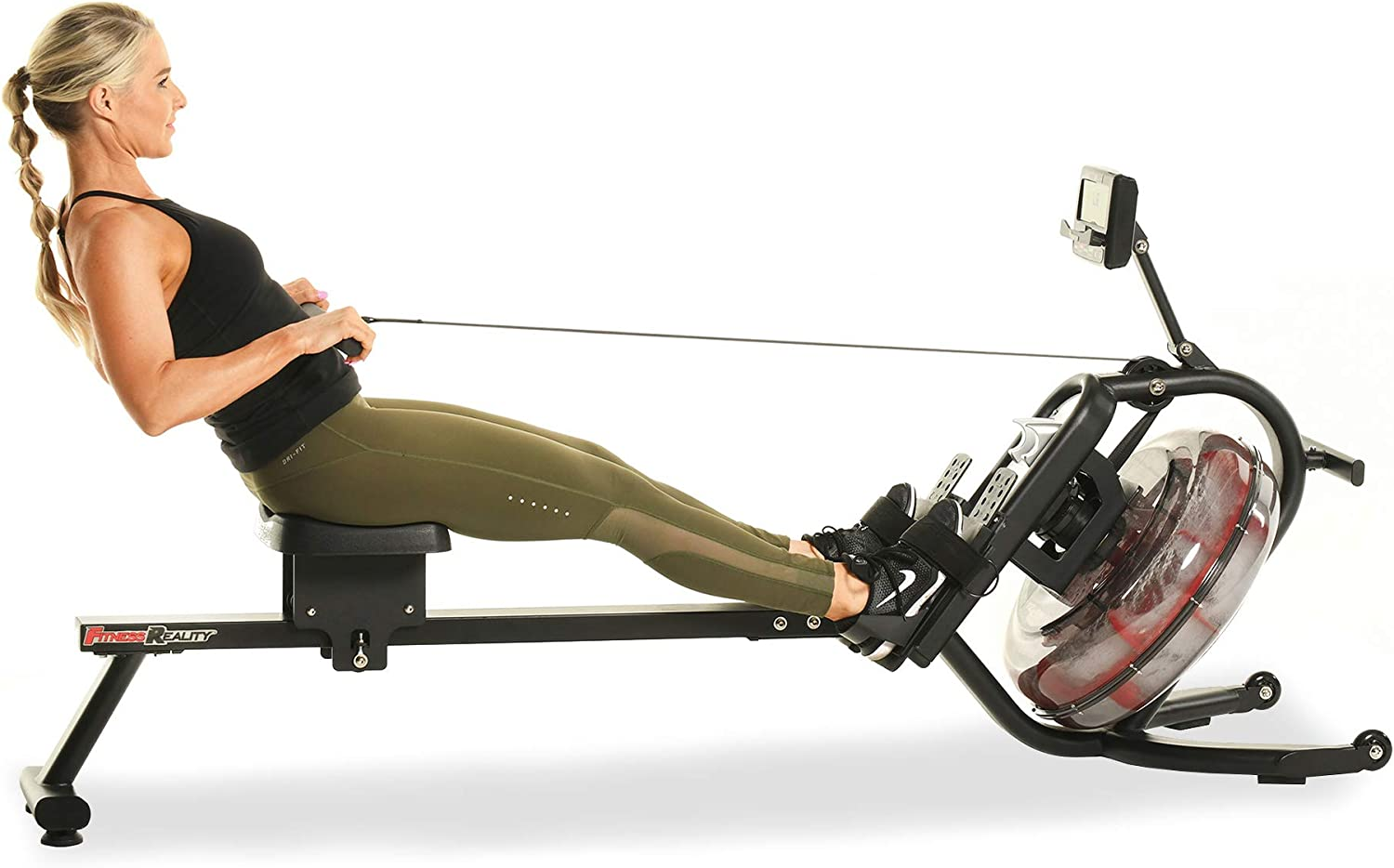 Fitness Reality 3000WR Limited price sale Bluetooth Now on sale Water Rower Machine with Rowing