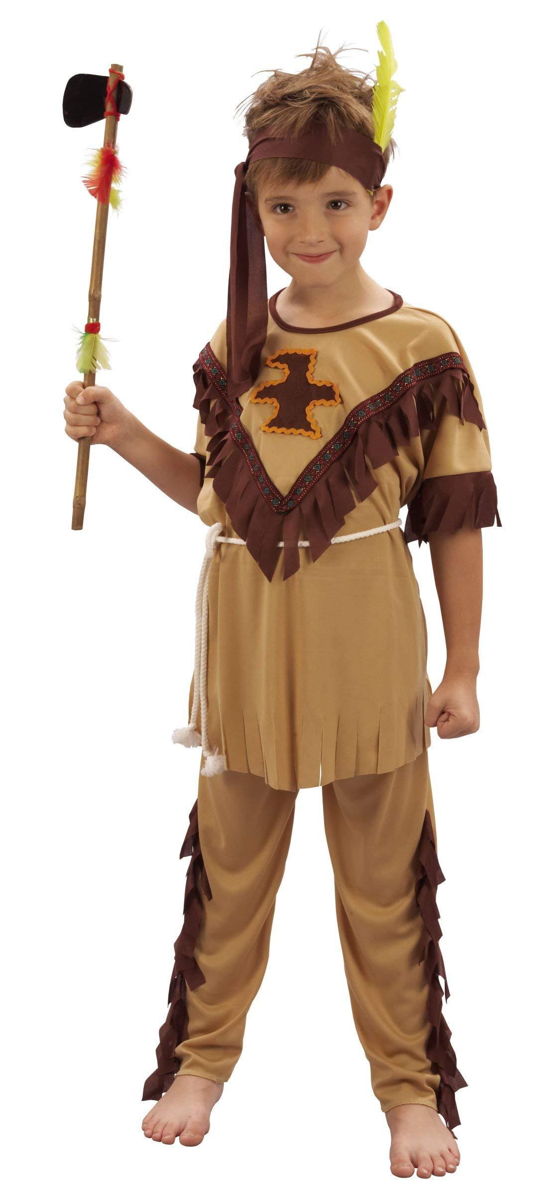 Vegaoo - Disfraz de Indio para niño - S 4-6 años (110-120 cm ...