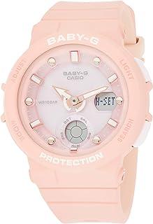 Casio Womens Quartz Watch, Analog-Digital Display and Resin Strap - BGA-250-4ADR