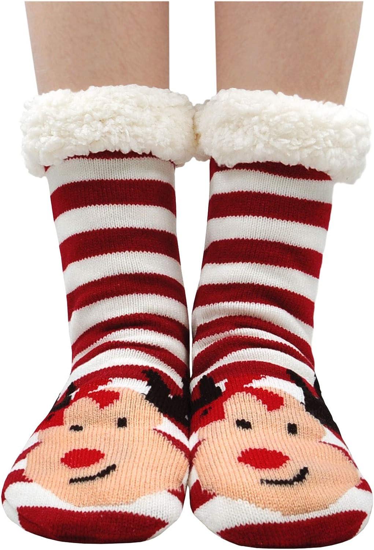 LOFIR Calze a Pantofola Donna Morbido Caldo Calzini termici Ragazze Donne Carina Modello animale cartone animato Calzini Inverno Casa Pavimento Calzini Antiscivolo 1 paio