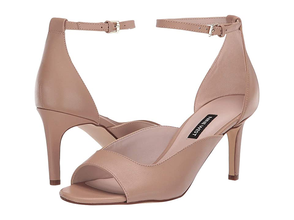 Nine West Avielle Heeled Sandal (Barely Nude) Women