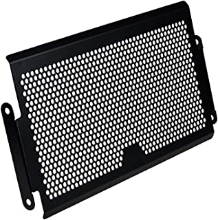 Honeycomb Aluminum Alloy Radiator Guard Cover Protector Grille for 14-17 Yamaha MT07 FZ07(Matte Black)