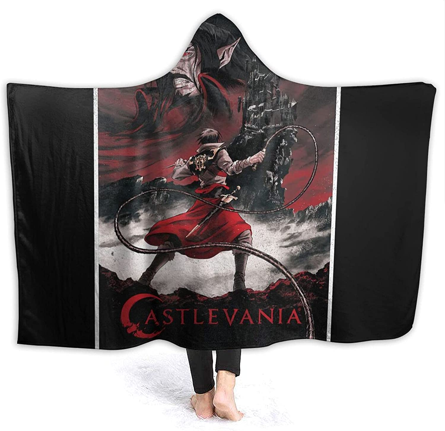 Castlevania Max 46% Clearance SALE! Limited time! OFF Hooded Blanket Throw Wearable Cuddle