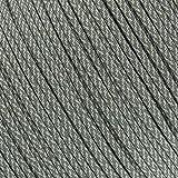 West Coast Paracord Cuerda de paracaídas militar de nailon de color camuflaje 550 Tipo III 7 hebras cuerda de utilidad – 100 pies Hanks, ACU Digital Foliage