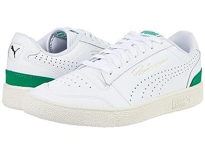 PUMA Ralph Sampson Lo Perf (Puma White/Amazon Green/Whisper White) Men