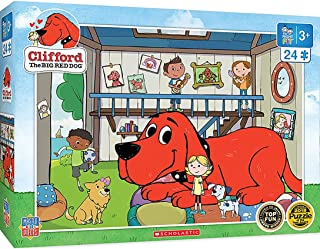 MasterPieces Clifford 24pc Puzzles Collection - Doghouse 24 Piece Jigsaw Puzzle
