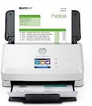 $598 » HP Scanjet Pro N4000 snw1 Sheet-Feed Scanner (6FW08A), Light Grey, Standard