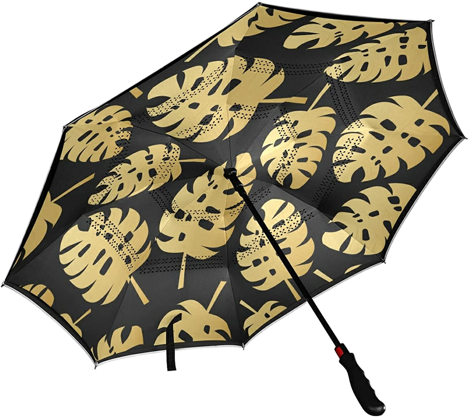 MNSRUU Reverse Tampa Mall Umbrella for Men Women Protect - and UV Dealing full price reduction Windproof