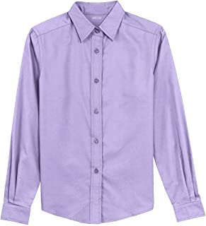 Joe's USA Ladies Long Sleeve Wrinkle Resistant Easy Care Shirts in 32 Colors. Sizes XS-6XL