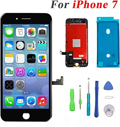 QTlier Screen Replacement for iPhone 7 LCD Display and Touch Screen  Digitizer Replacement Full Assembly with 03e6371b875