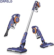 ORFELD Cordless Vacuum, 18000pa Stick Vacuum 4 in 1,Up to 50 Minutes Runtime, with Dual..