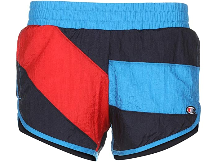 Champion LIFE Mens Colorblock Crinkle Nylon Short