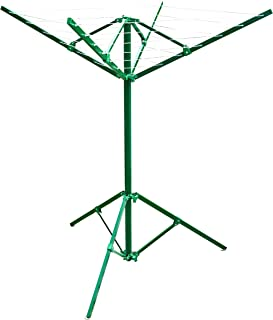 GreenWay GCL2FA Portable Outdoor Rotary Clothesline