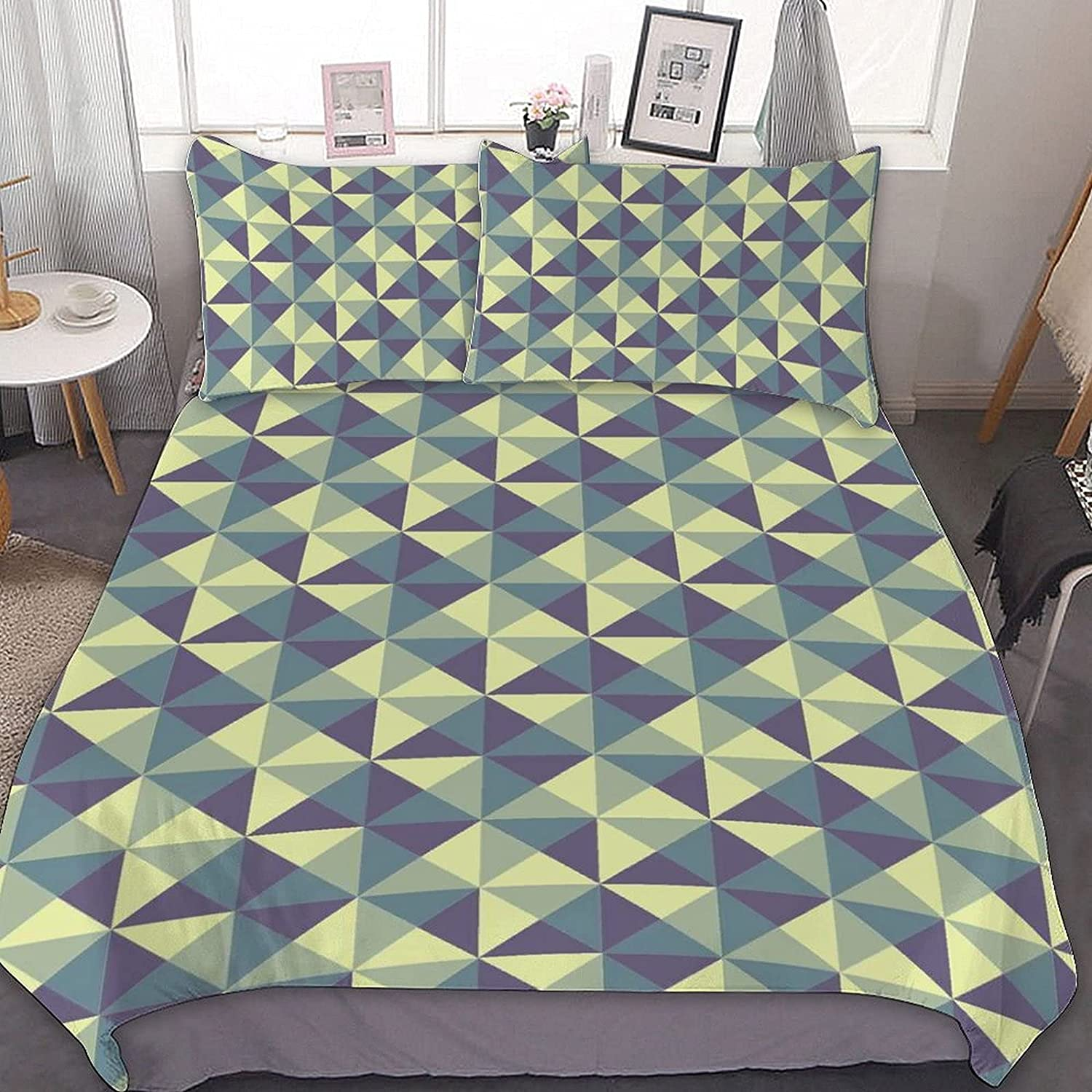 Modern Geometric Bedding Set 3 Co Super sale period limited Ultra Selling Piece Soft Comforter