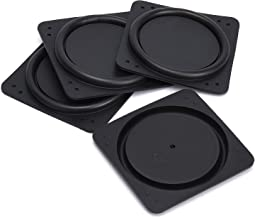 4pcs 3 Inches DIY Rubber Vibrating Plate, Speaker Radiator Bass Diaphragm, Woofer Loudspeaker Vibrating Membrane, Speaker Passive Radiator Replacement Kit