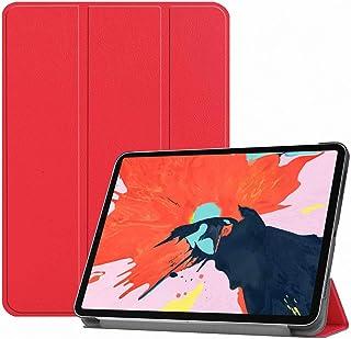 PINHEN Funda Protectora para iPad Pro 12.9 2018 con Apple Pencil Holder Pro 12,9 Pulgada Sleeve de Cuero Cover Case para Apple iPad Pro 12.9 2018 2017 2015 Tableta