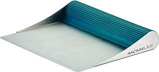 Rachael Ray Tools and Gadgets Stainless Steel Bench Scrape, Marine Blue, Medium - 46231