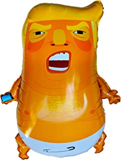 Baby Trump Balloon Huge 24 Inch Shiny Foil Donald Floating Blimp Party Pinata