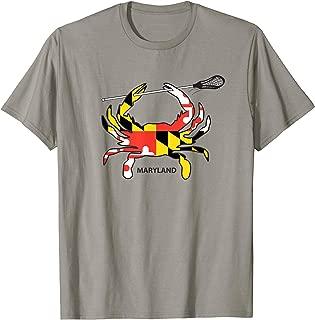 Maryland Crab Lacrosse Shirt, MD LAX, Maryland Lacrosse