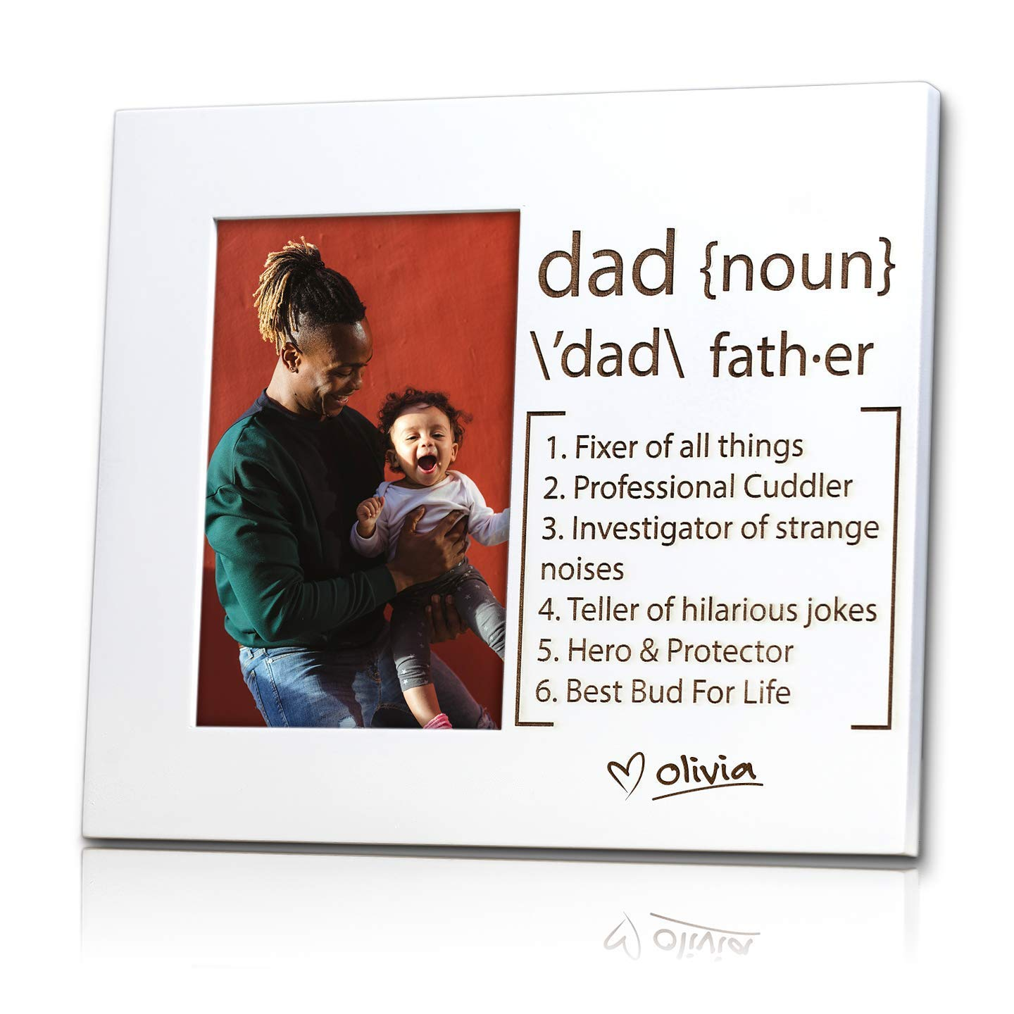 Challenge the lowest price of Japan Dad Defined Personalized Frame Cheap sale Picture