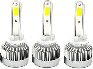 3 PACK FANLESS VERY BRIGHT 22500LM HEADLIGHT LED LIGHT BULBS 6K SUPER WHITE 2005-2018 POLARIS SPORTSMAN