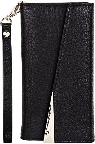 new arrival Case-Mate iPhone 8 Plus Case - WRISTLET FOLIO - Premium Pebbled Leather - Protective Design for Apple iPhone sale discount 8 Plus - Black outlet online sale