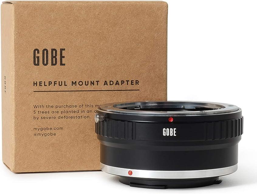 Gobe - Adaptador de Lente Compatible para Lentes Contax/Yashica (C/Y) y cuerpos de cámara Canon EOS M (EF-M)