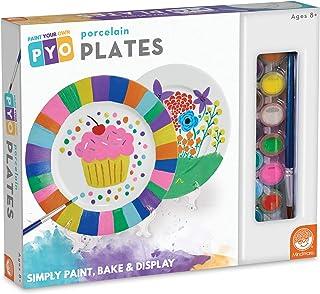 MindWare Paint Your Own Porcelain: Plates