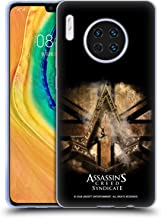 Official Assassin's Creed Gold Shilling Necklace Syndicate Logo Art Soft Gel Case Compatible for Huawei Mate 30