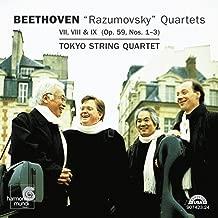 beethoven razumovsky string quartets
