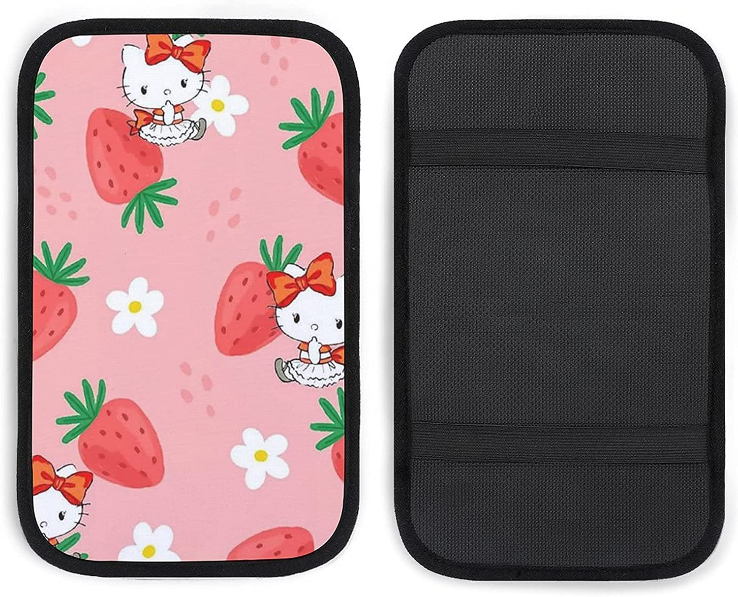 Nippon regular Ranking TOP15 agency GUIJI Car Armrest Pink Hello Kitty Auto Console Center Cov Cover