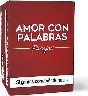 AMOR CON PALABRAS - Parejas - Sigamos conociéndonos ❤️ Juegos de Mesa para Dos Personas Perfectos Regalos para mi Novio o ...