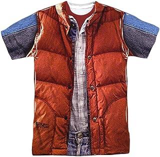 Back To The Future Mcfly Disfraz de Chaleco de Adulto de sublimación T-Shirt