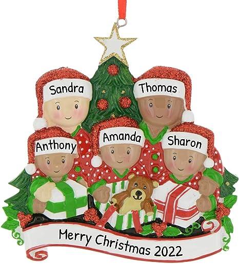 Custom Christmas Ornament Important Events Personalized Ornament Family Personalized Christmas Ornament