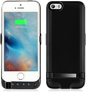 34c5caede80 Funda de batería para iPhone 5, 5S, SE, Yicente, 4200 mAh,