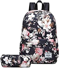 Backpack for Women,ODTEX School Bags Water-resistant Backpack Lightweight Bookbag Fits for 15 inch Laptop