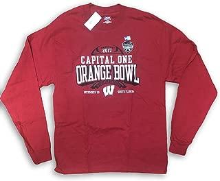 wisconsin orange bowl shirt