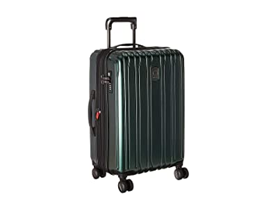 Delsey Chromium Lite Expandable Spinner Carry-On (Emerald) Carry on Luggage
