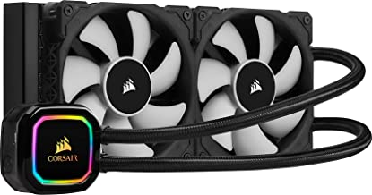 $119 » CORSAIR iCUE H100i RGB PRO XT, 240mm Radiator, Dual 120mm PWM Fans, Software Control, Liquid CPU Cooler, CW-9060043-WW