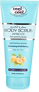 Cool & Cool Apricot Body Scrub 200 ml, Pack of 1