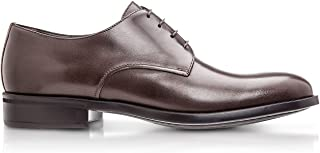 Luxury Fashion | Moreschi Men CORKDARKBROWNM41 Brown Leather Lace-up Shoes | Spring-summer 20
