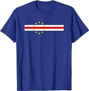 Cool Cape Verde Flag Soccer Football Fan Gift T-Shirt