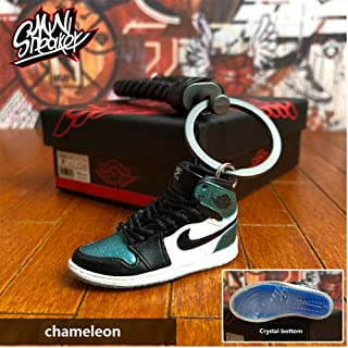 Fashion Mini Sneaker 3D Keychain Figure AJ1-20【1:6】 with Box for Christmas Gift AJ-004
