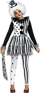 Fun World Killer Clown Child Costume