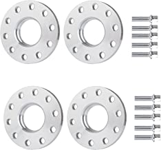 SCITOO 5 Lug Wheel Spacers 5x130mm to 5x130mm 15mm 4X 5x130 to 5x130 71.6mm fits for 2003-2016 Porsche Cayenne 1999-2015 Porsche 911 with 14x1.5 Studs(4X)