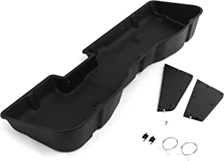 Red Hound Auto Under Seat Storage Box with Sturdy Heavy Duty Dividers Compatible with Chevy GMC Silverado Sierra 2007-2018 Crew CAB Underseat System Will Only fit Full Crew Cab Premium Kit